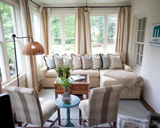 Sun Rooms Design - Like drapery for winter or privacy