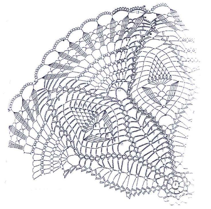 2299 best dečky..... images on Pinterest | Crochet doilies ...