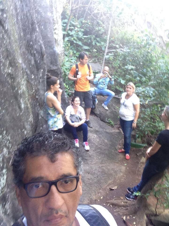 Selfie do Ronaldo Freire Andrade, leader, com a Fiscalização no Morro do Moreno - Vila Velha, ES - 11/09/2014
