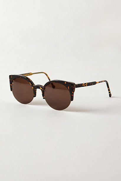 super lucia sunglasses / anthropologie