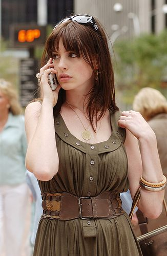 *LOVED* this outfit on Anne Hathaway in Devil Wears Prada