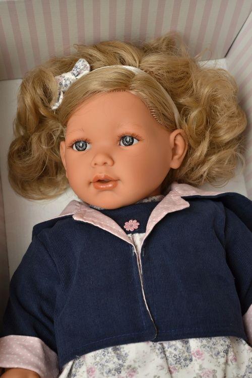 Realistická panenka Lula Chaqueta - světlé vlasy  -  Antonio Juan ze Španělska