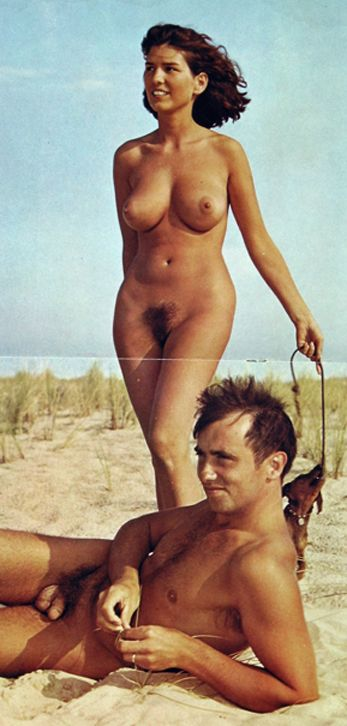 Classic nudist camp magazines