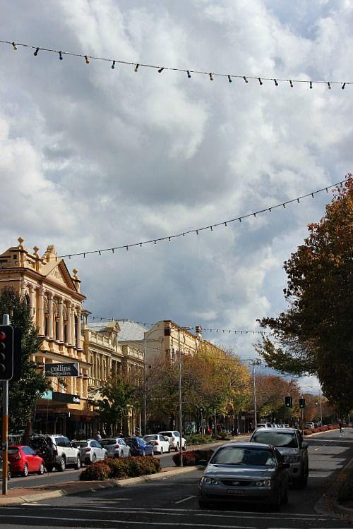 Main Street of Orange, NSW An Autumn Weekend in Orange via The World on my Necklace