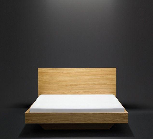 Bett o. Nachtablage | Furnier Eiche matt lackiert