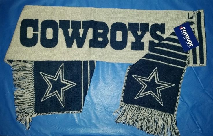 NFL Dallas Cowboys Forever Collectibles Light Weight Team Logo Scarf with Tags #ForeverCollectibles #DallasCowboys