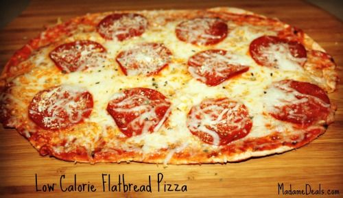 Low Calorie Flatbread Pizza Recipe