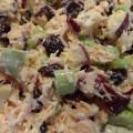 Cranberry and Apple Chicken Salad Recipe! Takes Less Than 10 Minutes To Prepare! » Frugal and Fun Mom/ Mom Blog, Reviews, Giveaways, Family Fun