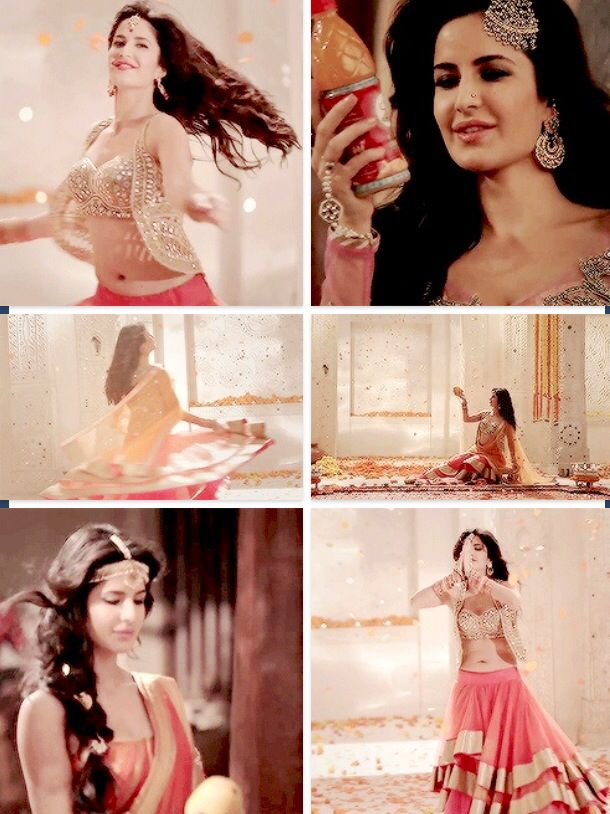 Glimpses of Katrina Kaif in the new Slice Juice (India) ad campaign.