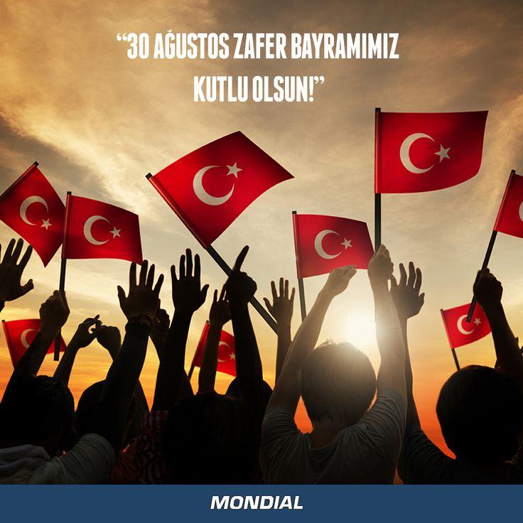 Tüm ulusumuzun 30 Ağustos Zafer Bayramı kutlu olsun!