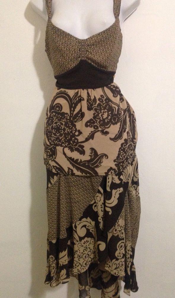 Bandolino 2 Pc. Skirt Set Brown Floral Size 10 #Bandolino #SkirtSet #Casual
