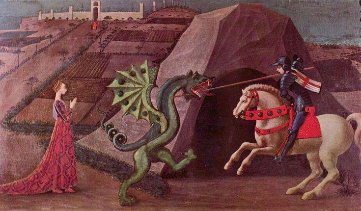 Paolo Uccello 050 - San Giorgio e il drago (Paolo Uccello) - Wikipedia