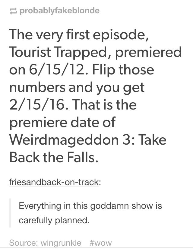 Ill miss u so much gravity falls, but ill always remember u where the first show to take theories and decryption to the next level.