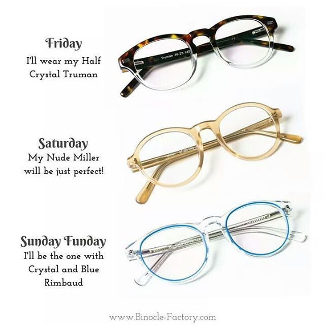 Let's make your Week-End awesome, with Binocle-Factory's frames! See everyday differently, and seeze all opportunities 😎  .  .  .  #fridayfeeling #weekend #saturday #sunday #sundayfunday #love #fashion #fashionaccessories #style #stylish #shopping #canadian #canadianfashion #canadianfashionlove #hipsterglasses #hipster #glasses #eyeglasses #onlineshopping #binocle #binoclefactory