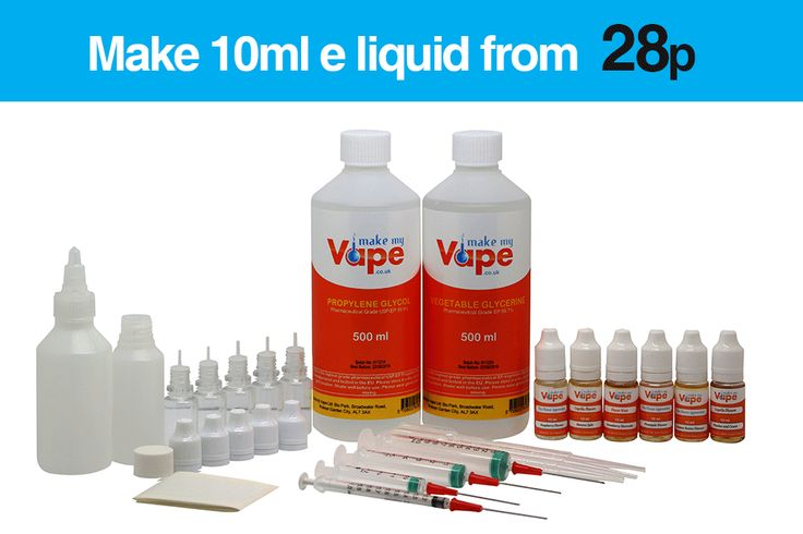 X-Massive Equipment – DIY E-Liquid Mixing Kits | Make My Vape