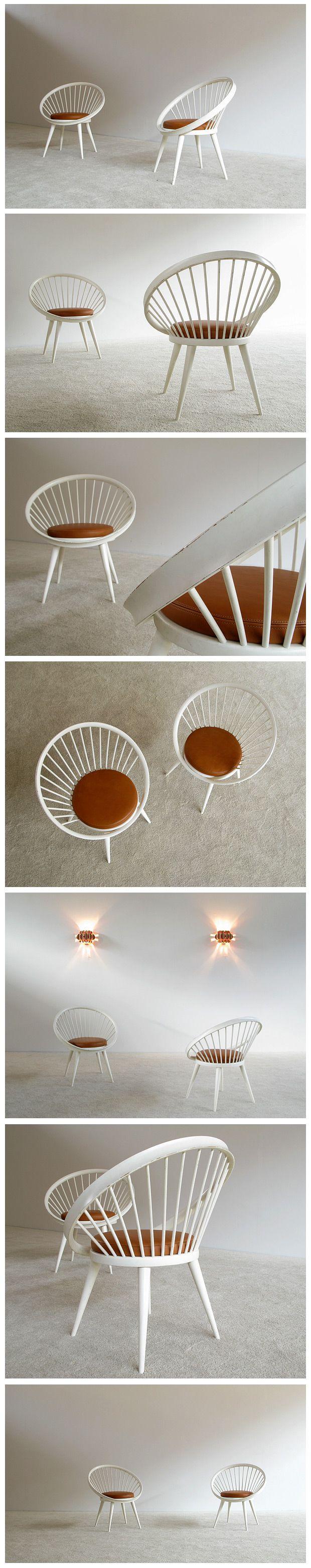 Pair of decorative side chairs Ekstrom