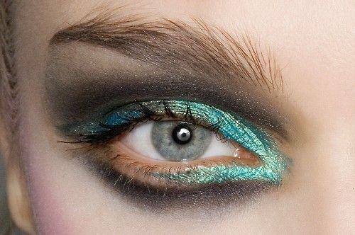 makeup at christian lacroix couture f/w 2008