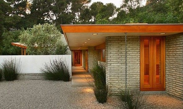 fence privacy mid century modern - Google Search