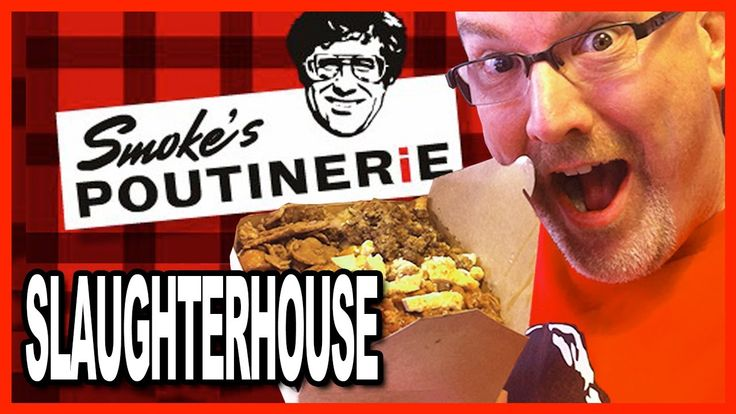 The Slaughterhouse Challenge Smoke's Poutinerie 6 Meat Topping on a WOW!...