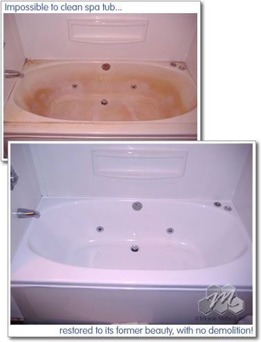 Built In Jetted Tub. Call Miracle Method Today We Can Update In 24 Hours.