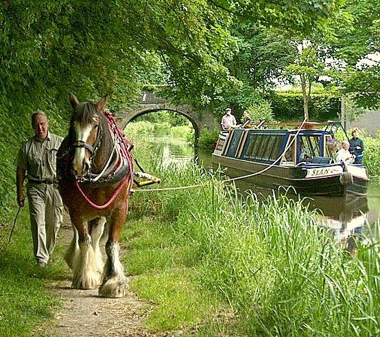 Montgomery Canal in Wales