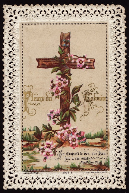The Cross is the gift  God made for His friends.