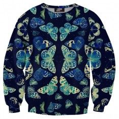 Butterflies sweater