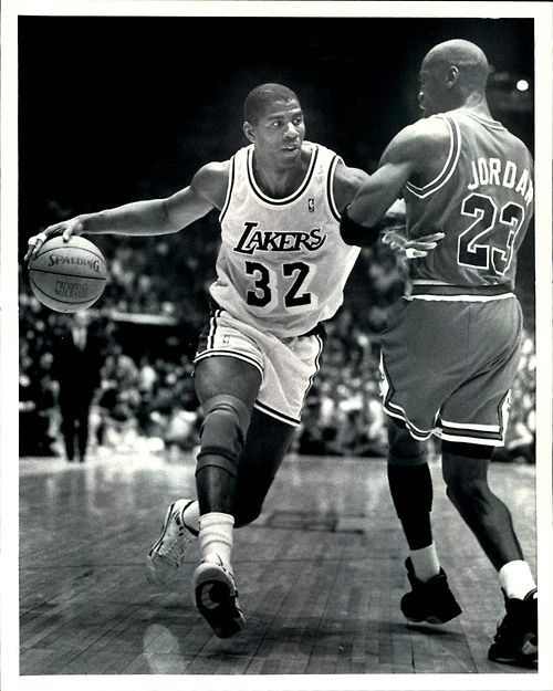Basketball is my favorite sport el bàsquet és el meu esport favorit these two people michael jordan and magic johnson are arguably the two best nba