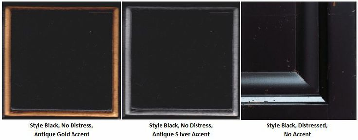 Style Black Colour Variations