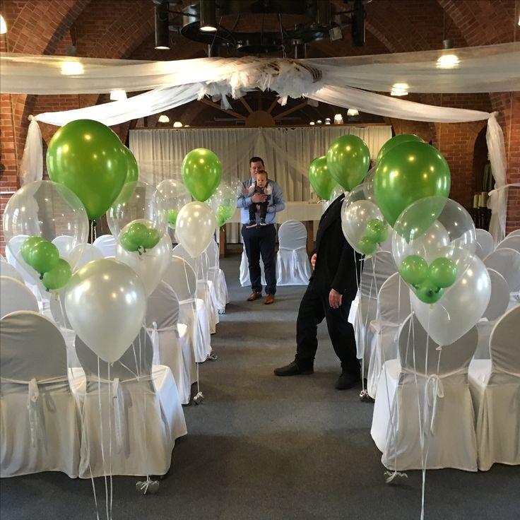 Helium ballonnen bruiloft