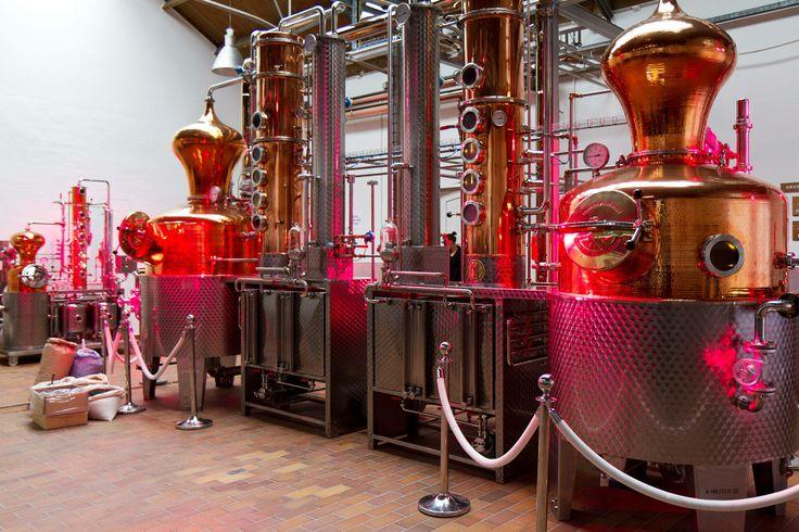 Opening brand new De Kuyper Distillery at Schiedam!
