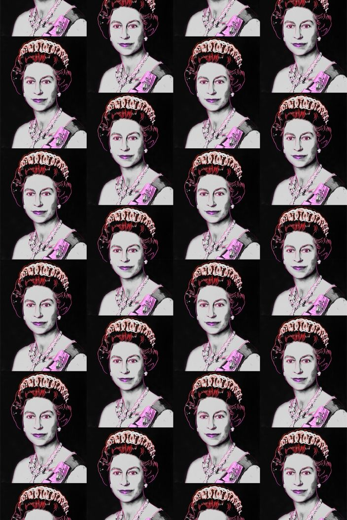 Love this for the bathroom….The Queen on the Throne :)  Queen Elizabeth