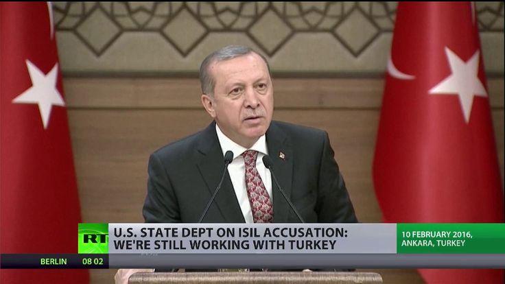 Türkischer Präsident Erdogan: USA unterstützen direkt den IS – Washingto...