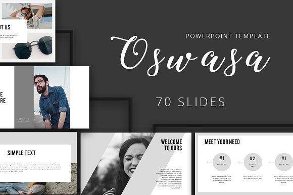 OSWASA Powerpoint Template by Maspiko on @creativemarket
