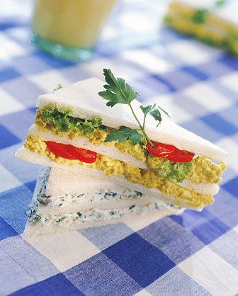 Cold Finger Sandwich Recipes