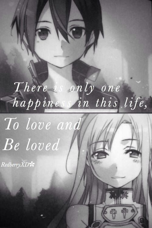 Life is to be in love on We Heart It