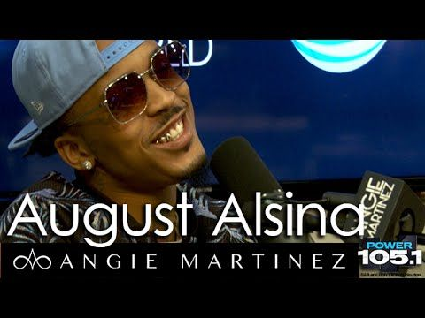 August Alsina Interview with Angie Martinez Power 105.1
