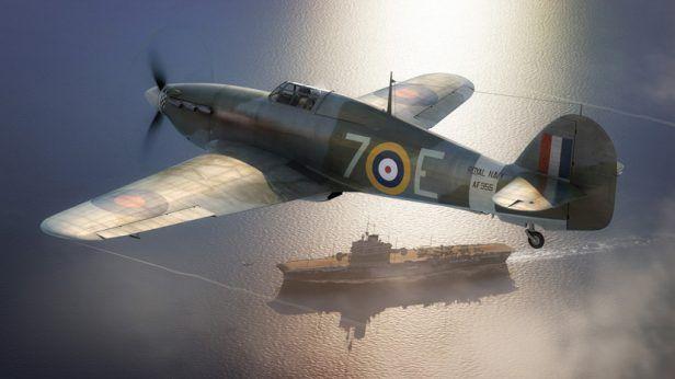 Airfix Releases New 1/48 Hawker Sea Hurricane Model Kit
