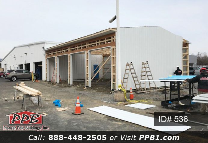 Metal Siding Is Almost Complete Garage Door Insulation Garage Insulation Metal Siding