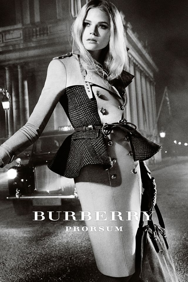 Absolutely adore this!! The @Burberry Autumn/Winter 2012 Campaign ... Gabriella Wilde