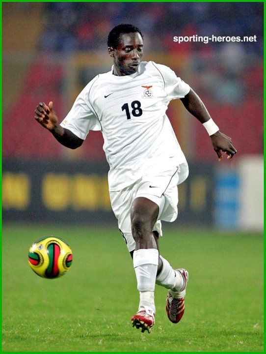 Billy Mwanza - Zambia - African Cup of Nations 2008