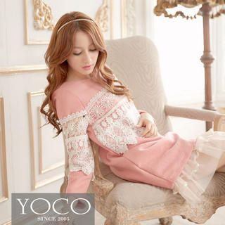 Lace-Trim Tunic from #YesStyle <3 Tokyo Fashion YesStyle.com.au