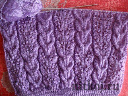 Irish Knit Stitch Patterns : 1815 best images about Cables & Irish (-ish) on Pinterest Knitting stit...