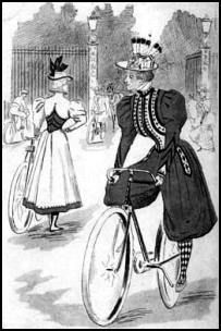 Victorian ladies sport attire!