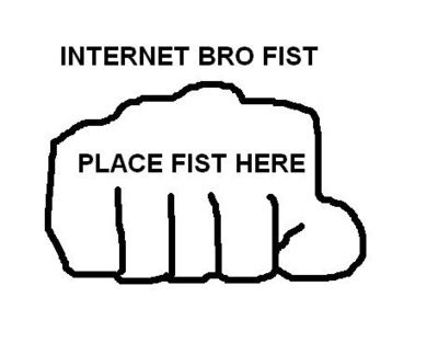 REPIN IF YOU ACTUALLY DID IT, PLEASE! Lets see if we all can fist pump each other. *Does fist pump to everyone who sees this.*