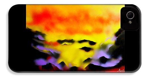 Land Of Heavens IPhone 4 / 4s Case Printed with Fine Art spray painting image Land Of Heavens by Nandor Molnar (When you visit the Shop, change the orientation, background color and image size as you wish)