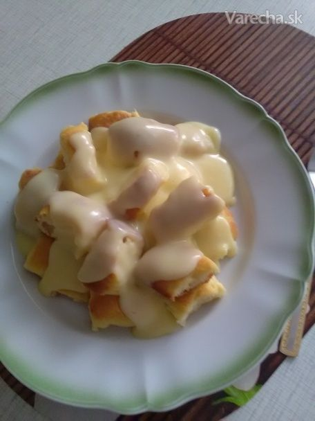 Dukátové buchtičky s vanilkovým krémom (fotorecept) - Recept