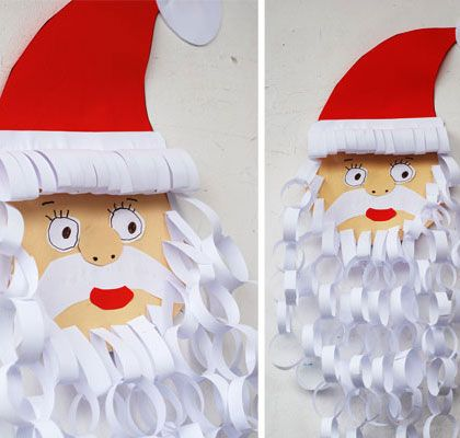 christmas craft ideas ks1 simple diy craft ideas for paper santa 3581