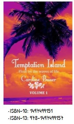 Special Offer!  Temptation Island Volume 1, contains of 11 chapters. The extracts we were presenting here are from Chapter 7. Saturday 2nd July,  Sunday 3rd July, and Monday 3 rd July 2016 you can read the whole book for free! You can download it for free from Kindle Amazon.