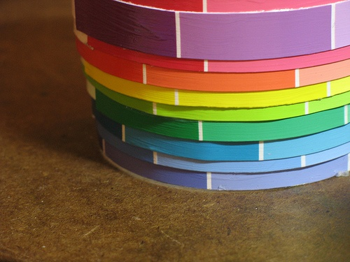 102 Best Images About Paint Chip Ideas On Pinterest Dry